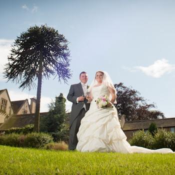 bagden hall bride and groom, Gav Harrison Photography, West Yorkshire Wedding Photographer