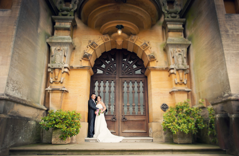 Harlaxton Manor Grantham wedding photographer Gav Harrison Photography