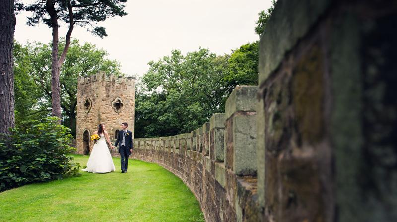 Wentworth Castle Gardens wedding photographer Gav Harrison Photography