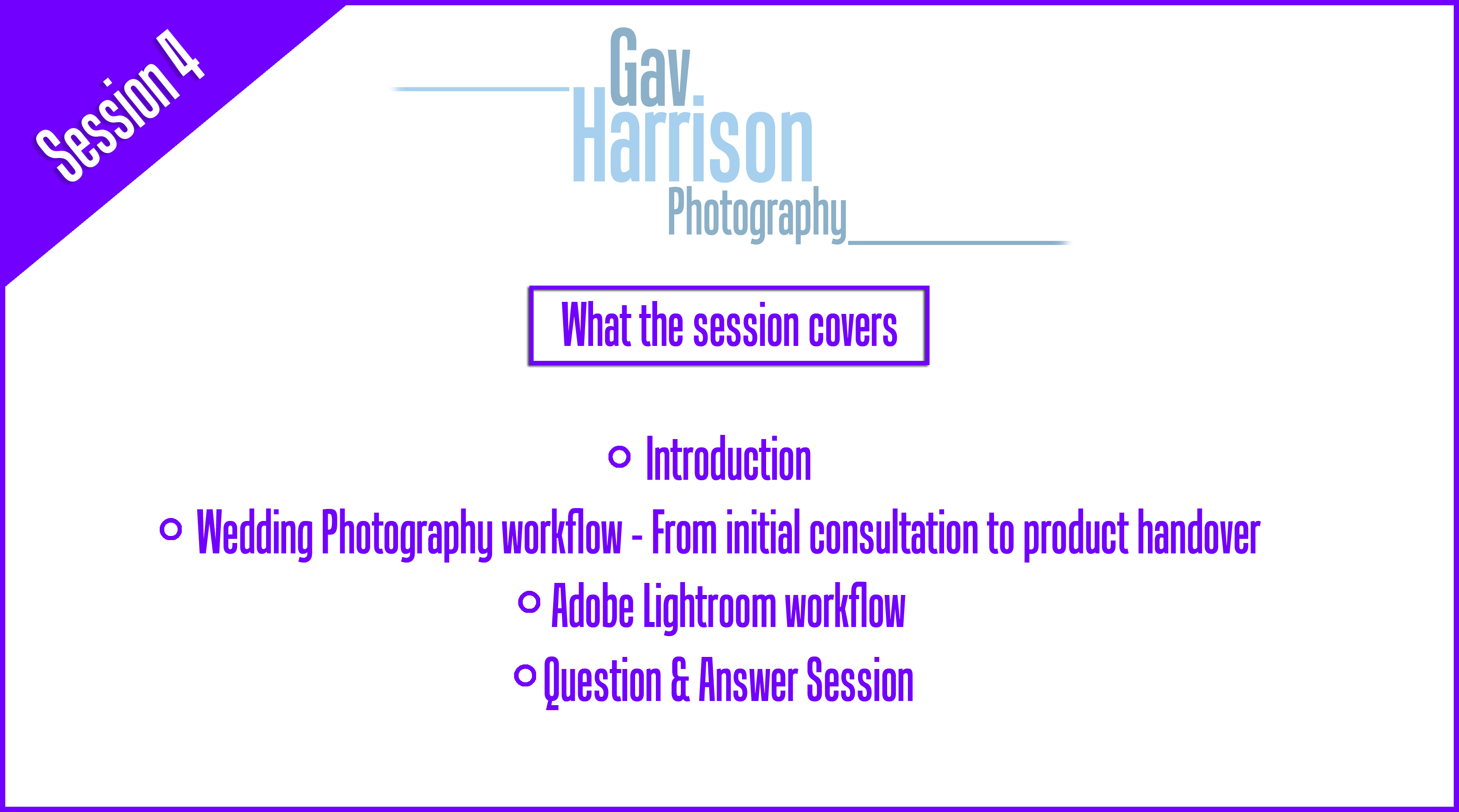 Digital Photography Tuition session, Gav Harrison Photography wedding photography