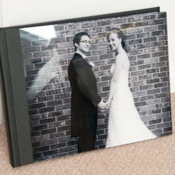 bellissimo wedding album acrylic cover, Gav Harrison Photography